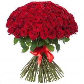Super rožių puokštė.