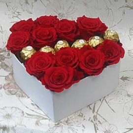 "Rožių širdelė su ""Rocher..."